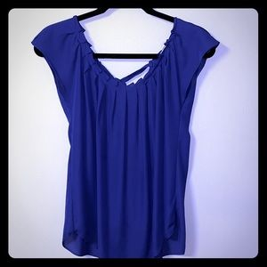 LAUREN CONRAD SLEEVELESS BLOUSE